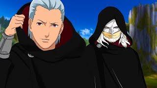 Хидан и организация Кара в аниме Боруто