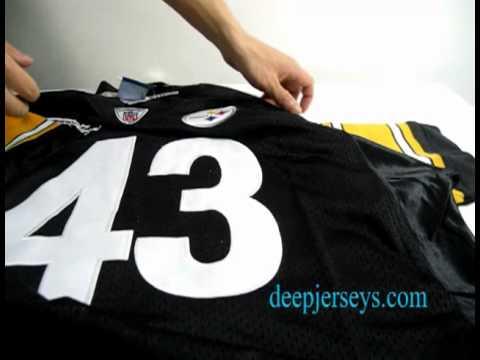 5dcbe9f90fa Wholesale Pittsburgh Steelers  43 Troy Polamalu Super Bowl XLIII Team Color  Jerseys