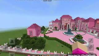 Minecraft map  barbienin rüya evi 🏠🏡