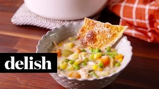 Chicken Pot Pie Soup  Delish