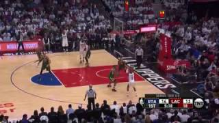 Game 5 NBA Playoffs, Jazz vs Clippers highlights