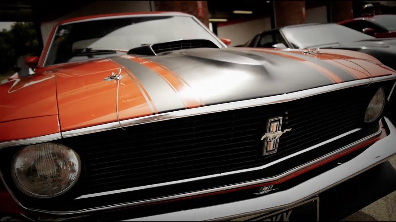 Classic American Muscle Experience Brands Hatch Mustang