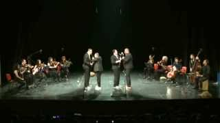 "Blowbasterds - Clarinet quartet ""Nevsky"" with Mosaic string orchestra and percussion"