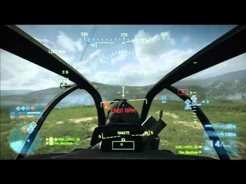Caspian | Helicopter Gameplay | - BF3