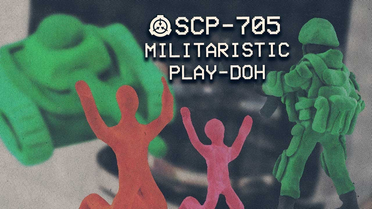 Scp 705 Miitarstic Play Doh Object Class Safe Metamorphic