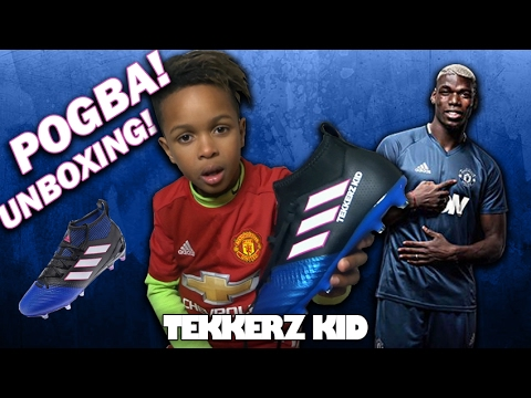 PAUL POGBA! | ADIDAS UNBOXING!! | First Never Follows!!