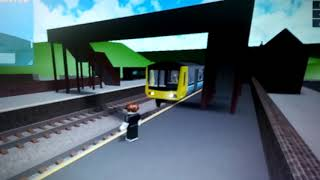 Class 151 at dovy Junction (gcr roblox)