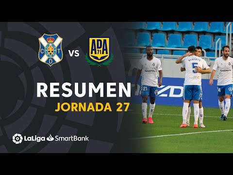 Tenerife Alcorcón Goals And Highlights