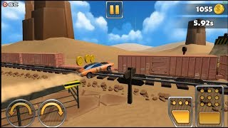 Stunt Car Challenge 3 / Trakcs Car Driver games / Android Gameplay FHD