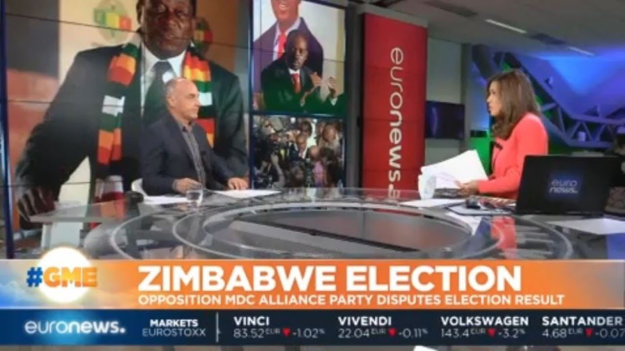 Zimbabwe Election: Opposition MDC alliance party disputes election results