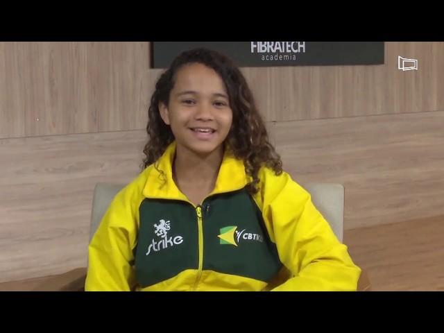 Danielly Vitória - A estrelinha do taekwondo
