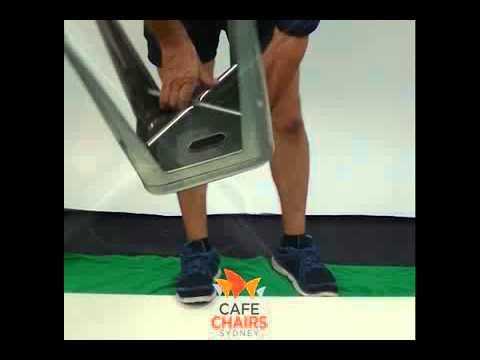 Attaching The Replica Tolix Stool Cushion