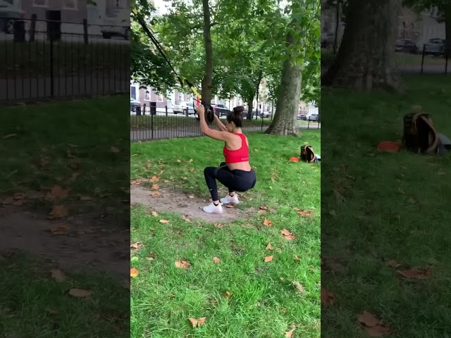 LEG SESSION IN THE PARK