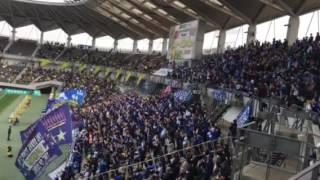 ホーム開幕戦ジェフ千葉VSモンテディオ山形 応援.