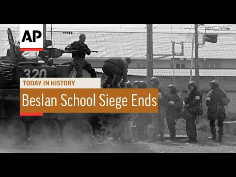 Beslan School Siege Ends - 2004  | Today in History | 3 Sept 16
