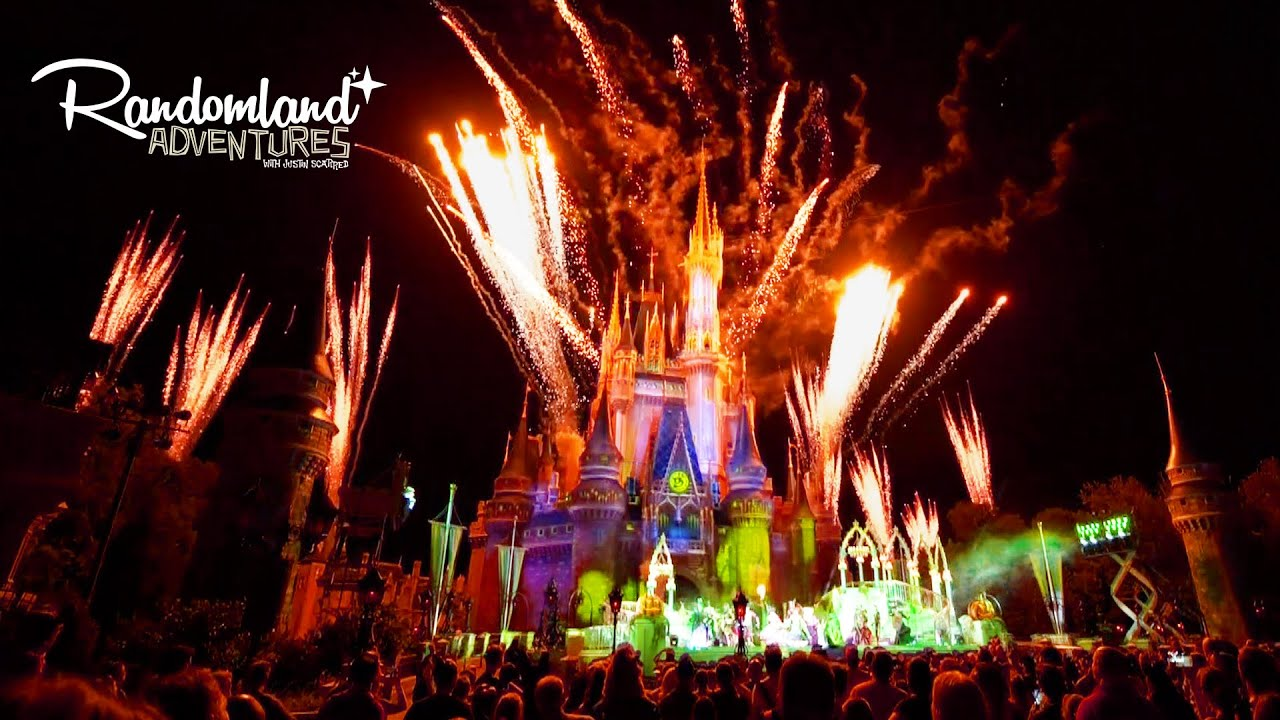 halloween party at walt disney world magic kingdom mayhem youtube