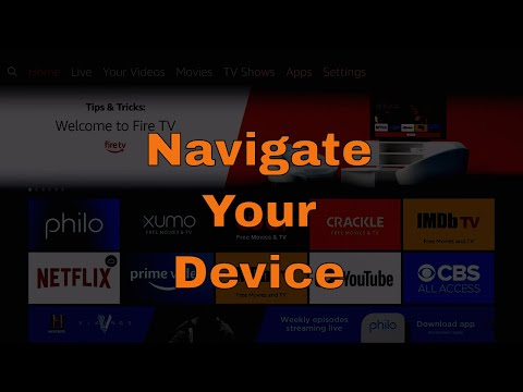 Navigating Your Amazon Fire TV Stick & Fire TV Cube 2020 | Mchanga