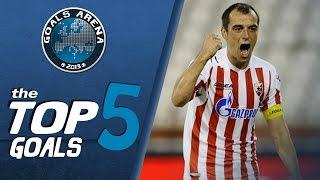 TOP 5 GOALS 24 kolo JSL 2013 14