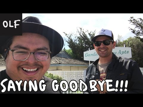Saying Goodbye!!! (and a few other things)