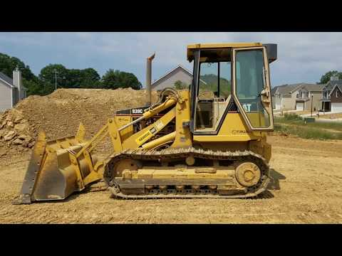2007 Cat 939C crawler loader