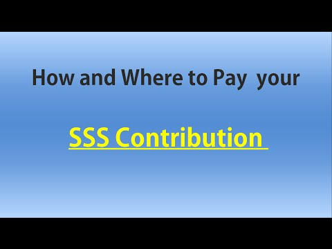 How and Where to Pay your SSS Contribution