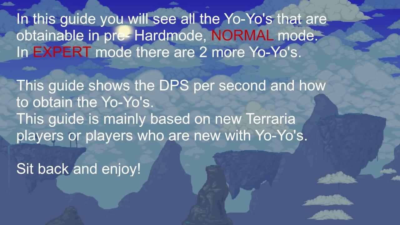 Terraria Yo Guide For Beginners Youtube Wiring 1 2