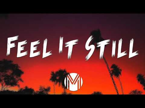 Feel It Still (Lyric Video)