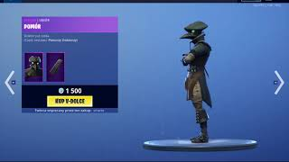 MagasinEz Fortnite 26.05 (dimanche) New Skin PieseMD