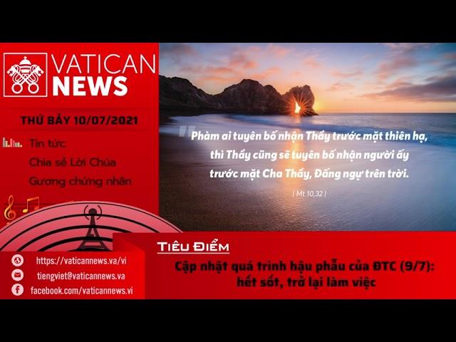 Radio thứ Bảy 10/07/2021 - Vatican News Tiếng Việt