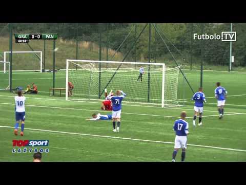 "FM–FK ""Granitas"" 1:1 (5:3) FA ""Panevėžys"": Santrauka (Elitinė U-19 Lyga; III Turas; 2015-09-05):"