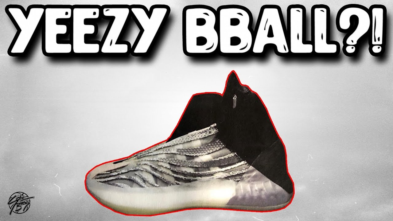22fe07b8659 Adidas Yeezy Basketball Shoe LEAK ! - YouTube