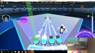 roblox robeats archive::zip (normal) dificullty 15 88.66% acc (hand cam)
