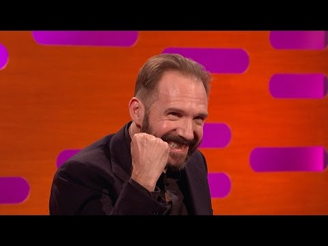 Ralph Fiennes on scaring children as Voldemort  The Graham Norton : Series 18 – BBC One