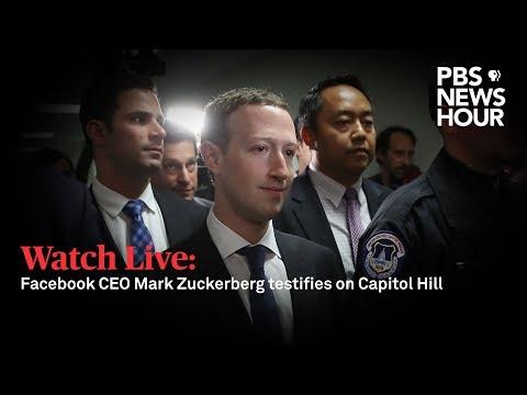 WATCH LIVE: Facebook CEO Mark Zuckerberg testifies before Senate on user data