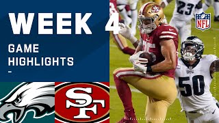 Eagles vs. 49ers Week 4 Highlights | NFL 2020