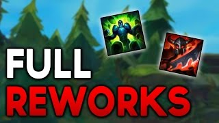 NEW FULL WARLORDS + BOND OF STONE REWORKS! (League of Legends)