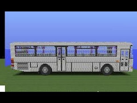 tuto minecraft construction d 39 un mini bus youtube. Black Bedroom Furniture Sets. Home Design Ideas