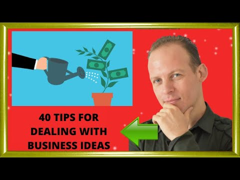 40 Business idea tips: how to get new business ideas, tell which are good and start your business