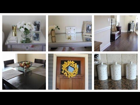 HUGE Home Decor Haul & Mini House Tour (Pier 1, Z Gallerie, Homegoods, Target)s Marshalls