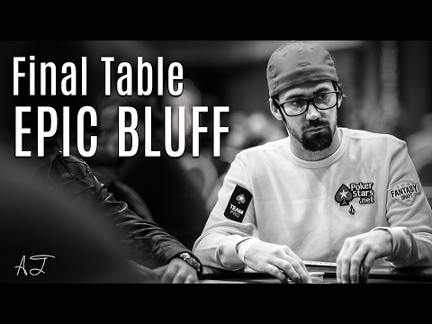 Poker Bluffing Strategy: Mercier Pulls Off EPIC Bluff at the Final Table!