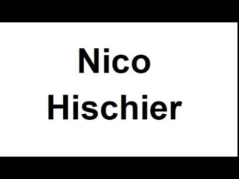 How to Pronounce Nico Hischier - New Jersey Devils NHL Hockey Player