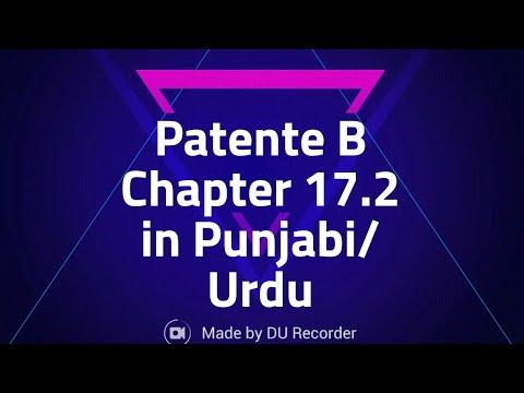 Patente b chapter 17.2 punjabi hindi urdu