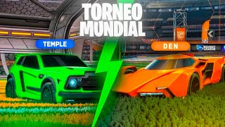 REACCIONANDO AL TORNEO MUNDIAL DE FREESTYLE  🚀 PULSE TEMPLE VS DEN | ROCKET LEAGUE