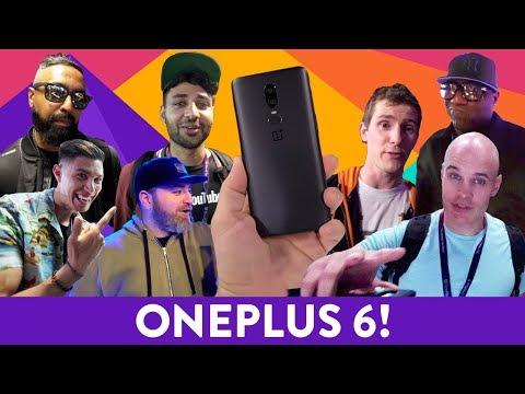 OnePlus 6: YouTubers REACT!
