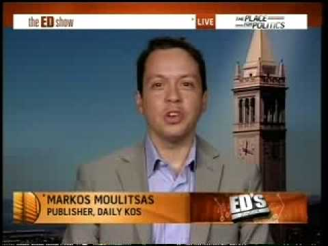 Markos Moulitsas Tells Ed Schultz There