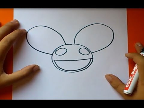 Como dibujar el casco de deadmau5 paso a paso   How to draw ...
