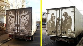People Who Found Their Dirty Cars Turned Into Piece Of Art