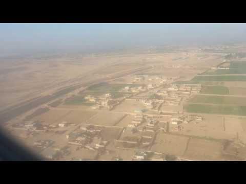 Lanading at Borg El Arab Airport