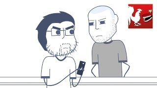 Rooster Teeth Animated Adventures - Gus the Social Media Hostage