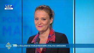 Olivia Grégoire sur LCP dans Politique Matin